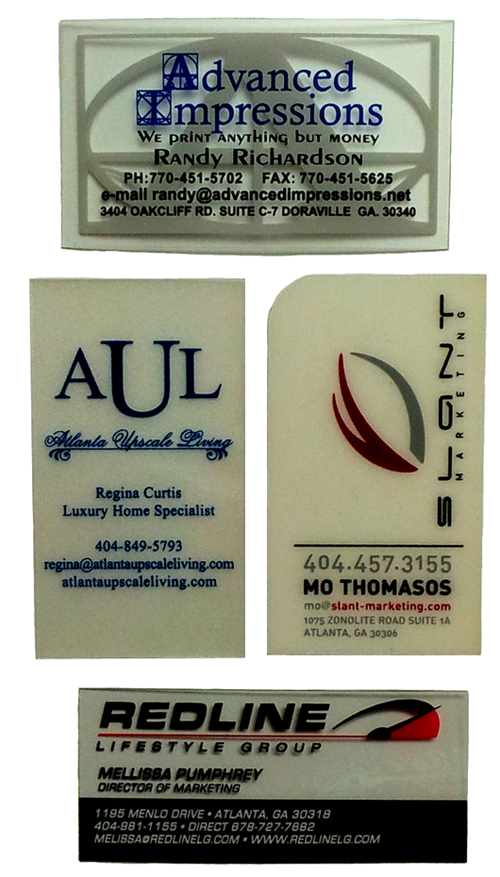 Plastic business cards reheart Choice Image